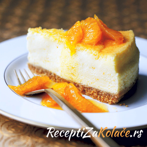 Cheesecake sa mandarinama